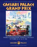 Caesars Palace Grand Prix Print by LeRoy Neiman