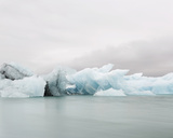 Glacier Glow Giclee Print by Irene Suchocki