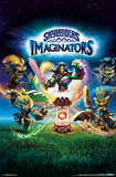 Skylanders: Imaginators- Traptanium Crystal Key Art Posters