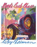 Monte Carlo Chase Posters by LeRoy Neiman