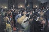 The Ball Giclee Print by Julius Stewart