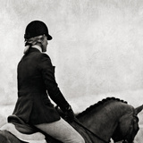 Dressage - The Rider Giclee Print by Pete Kelly