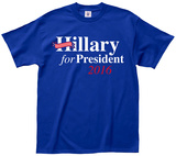 Hillary for President 2016 T-skjorter