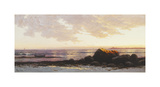 Point Judith, Narragansett Bay, Rhode Island, c.1885 Premium Giclée-tryk af Alfred Thompson Bricher