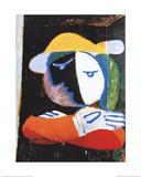 Femme au Balcon Kunst von Pablo Picasso