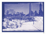 New York City In Winter V In Colour Giclee Print by  British Pathe