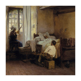 The First Born Premium Giclee Print by Gaston La Touche