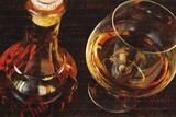 Le Cognac Impression giclée par Teo Tarras