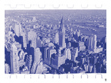 New York City In Winter III In Colour Giclee Print by  British Pathe