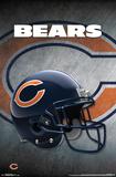 NFL: Chicago Bears- Helmet Logo Poster