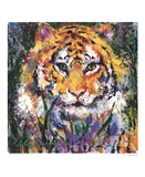 Tiger Prints by LeRoy Neiman