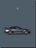 BMW M4 GTS Stretched Canvas Print by Mark Rogan