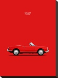 Alfa Romeo Giulia Spider 1964 Stretched Canvas Print by Mark Rogan