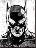 Batman Stretched Canvas Print by Neil Shigley