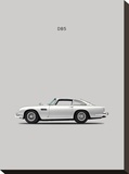 Aston DB5 1965 Reproduction sur toile tendue par Mark Rogan