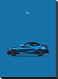 BMW M2 Stretched Canvas Print by Mark Rogan