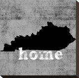 Kentucky Stretched Canvas Print by Luke Wilson