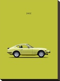 Datsun 240Z 1969 Stretched Canvas Print by Mark Rogan