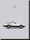 Nissan 300ZX Turbo 1984 Stretched Canvas Print by Mark Rogan