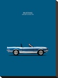 Ford Mustang Shelby GT500-KR 1 Stretched Canvas Print by Mark Rogan
