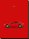 Mazda RX8 Stretched Canvas Print by Mark Rogan