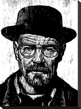 Heisenberg Stretched Canvas Print by Neil Shigley