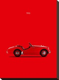 Triumph TR3 1959 Stretched Canvas Print by Mark Rogan