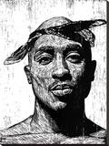 Neil Shigley - Tupac - Şasili Gerilmiş Tuvale Reprodüksiyon