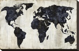 The World II Stretched Canvas Print by Russell Brennan