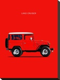 Toyota Land Cruiser FJ40 1977 Stretched Canvas Print by Mark Rogan