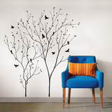 Bird's Eye View Wall Art Kit Wall Decal
