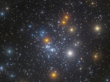 Ngc 884, an Open Cluster in Perseus Photographic Print by  Stocktrek Images