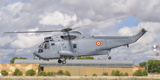 A Spanish Navy Sh-3D Helicopter Photographic Print by  Stocktrek Images