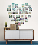 Love 2 Travel Wall Art Kit Wall Decal
