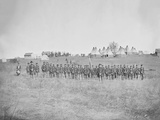 Infantry on Parade During American Civil War Photographic Print by  Stocktrek Images