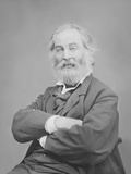 Walt Whitman Portrait Circa 1861-1865 Photographic Print by  Stocktrek Images