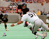 Jim McMahon 1984 Action Photo