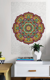 Paradise Mandala Coloring Wall Decal Wall Decal