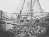 Gunboat Uss Mendota on James River During the American Civil War Photographic Print by  Stocktrek Images