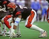 Anthony Munoz 1990 Action Photo