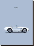 Shelby Cobra 65 Stretched Canvas Print by Mark Rogan