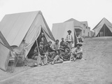 71st New York Infantry at Camp Douglas During the American Civil War Photographic Print by  Stocktrek Images