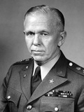 World War Ii Portrait of General George Marshall Photographic Print by  Stocktrek Images