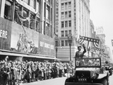 General George Patton During a Ticker Tape Parade Photographic Print by  Stocktrek Images