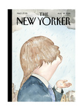 The New Yorker Cover - August 22, 2016 Regular Giclee Print by Barry Blitt