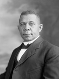 Portrait of Booker T. Washington Photographic Print by  Stocktrek Images
