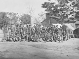 Group Photo of the 44th Indiana Infantry During the American Civil War Photographic Print by  Stocktrek Images
