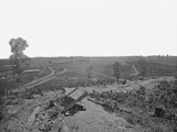 Battlefield of Resaca, Georgia, During the American Civil War Photographic Print by  Stocktrek Images