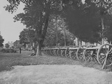 Artillery Park During the American Civil War Photographic Print by  Stocktrek Images