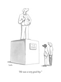 """He was a very good boy."" - New Yorker Cartoon Premium Giclee Print by Charlie Hankin"